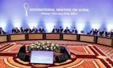 Astanā aiz slēgtām durvīm atsākas Sīrijas miera sarunas