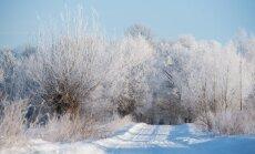 Sestdien vietām līs un snigs; gaiss iesils līdz +4 grādiem
