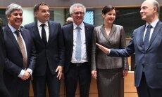 Reizniece-Ozola kandidatūru uz Eirogrupas prezidenta amatu atsauca, lai nonāktu līdz rezultātam