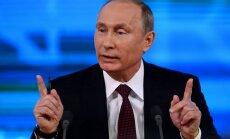 Путин: ситуация в Прибалтике нас не устраивает, но войска вводить мы не будем
