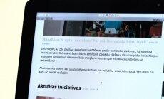 Aizdomu dēļ portālā 'Manabalss.lv' pārtrauc parakstu vākšanu par mācību valodas brīvu izvēli