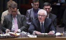 Krievija negūst atbalstu ANO Drošības padomes sēdē