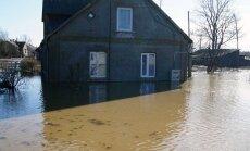 Valdība nolemj neizsludināt ārkārtas situāciju plūdu skartajās pašvaldībās