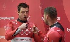 Olimpieši Cauce, Dārznieks un brāļi Šici kļūst par Latvijas čempioniem kamaniņu sportā