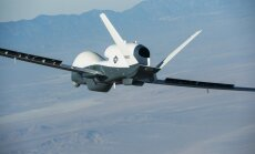 Video: ASV izmēģina milzīgu bezpilota lidaparātu 'Triton'