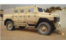 Krievijā izstrādāts bruņu auto 'Tigr' pēctecis 'Buran'