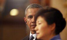 Phenjana Dienvidkorejas prezidenti nodēvē par Obamas 'prostitūtu'