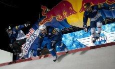 Latvijas pārstāvim Tripānam 94.vieta 'Red Bull Crashed Ice' jaunās sezonas pirmajā posmā