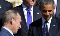 Obamas un Putina telefonsaruna ilgst pusotru stundu; Putins nepiekāpjas
