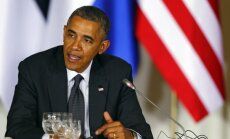 Obama brīdina Krieviju par jaunām sankcijām