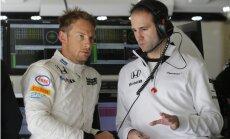 Džensonam Batonam Austrijas 'Grand Prix' piespriests 25 starta vietu sods