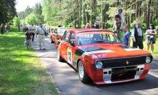 Auto sacensības 'Dzintara Volga' šogad Mežaparkā svinēs 50 gadu jubileju