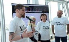 Aptaujās iedzīvotāji gribējuši bēgt: kampaņas radītāji skaidro saukli 'Mēs darītu tāpat'