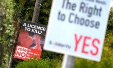 'Google' pirms 'abortu referenduma' pārtrauc visas tā reklāmas kampaņas