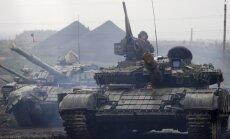 Krievija mēnesī separātistiem Doņeckā pārskaita 33 miljonus eiro