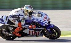 Kopvērtējuma līderis Lorenso uzvar Sanmarīno 'Grand Prix' motošosejā