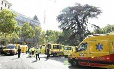 Madridē iebrukusi viesnīca 'Ritz'; negadījumā 11 cietušie un viens bojāgājušais