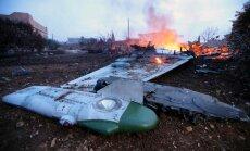 Video: Sīrijas opozīcija notriec Krievijas 'Sukhoi Su-25'; pilots nošauts