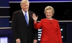 Pēc Klintones un Trampa debatēm abas puses paziņo par uzvaru tajās