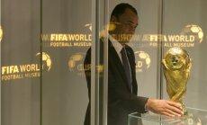 FIFA Futbola muzejam nodots oriģinālais Pasaules kauss