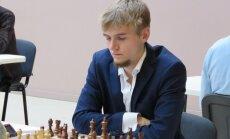 Latvijas šahisti paliek bez uzvarām Eiropas čempionāta trešās kārtas cīņās