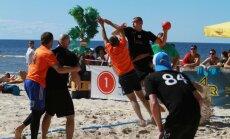 Krištopāns un citi vadošie Latvijas spēlētāji piedalīsies pludmales handbola turnīrā 'Jūrmala 2016'