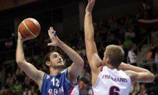 Latvijas basketbolistu ceturtais pretinieks – Krstičs, Ivkovičs un Serbija