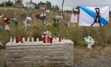 Santjago de Kompastela pilsētā izvadīs traģiskās vilciena avārijas upurus