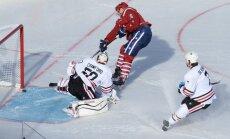 'Capitals' pēdējās spēles sekundēs izrauj uzvaru NHL 'Winter Classic' mačā