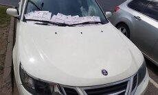 ФОТО: Возможно, самый злостный нарушитель в Риге