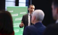 Robertu Putni ievēl par partijas 'Progresīvie' vadītāju