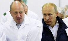 ASV sankcijām pakļauj vēl 19 krievus, tostarp 'Putina pavāra' darbiniekus