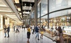 Центр Akropole вложил 7 млн евро в транспортную инфраструктуру и благоустройство территории