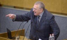 Žirinovskis: Baltijas valstīs jārīko referendums par iekļaušanu Krievijas Federācijā