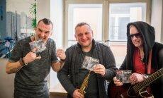 Foto: 'Līvi' svin jaunā albuma izdošanu un aicina uz koncertiem