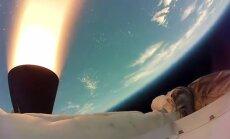 Video: NASA virsskaņas ātrumā izmēģina 'lidojošo šķīvīti'