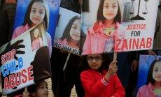 Pakistānā tiesa piespriež nāvessodu astoņu mazgadīgu meiteņu izvarotājam
