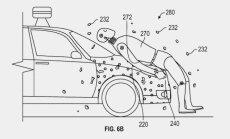 'Google' patentējis lipīgu motora pārsegu gājēju drošībai
