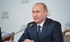 Putins: tikai slims cilvēks var iedomāties, ka Krievija pēkšņi uzbruks NATO