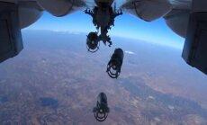 Krievija apgalvo, ka nav sabombardējusi nevienu civilo objektu Sīrijā