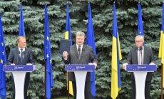 Безрезультатный саммит Украина-ЕС