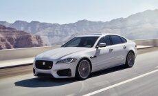 'Jaguar' prezentējis jauno 'XF' sedanu