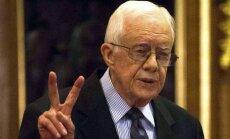 91 gadīgajam bijušajam ASV prezidentam Kārteram vairs nav jāārstējas no vēža