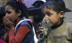 Что попало на видео с места химической атаки в Думе: три версии