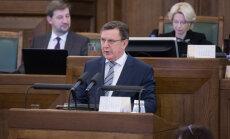 Кучинскис: налоговая реформа - одна из важнейших задач 12-го Сейма
