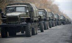EDSO: Krievijas-Ukrainas robežu šķērso simtiem cilvēku militārā apģērbā