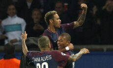 PSG Čempionu līgā pārliecinoši uzvar 'Bayern'; 'Chelsea' izrauj uzvaru pret 'Atletico'