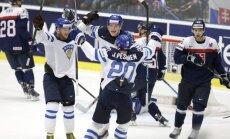 Video: Arī Slovākijas hokejisti nespēj iemest Somijai
