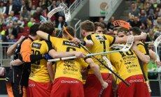 'Betsafe/Ulbroka' florbolisti dramatiskā cīņā nosargā Latvijas čempionu troni