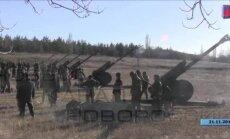 Video: Donas kazaku artilērija apšauda Ukrainas armiju